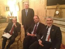 Monti e i Partiti di Governo