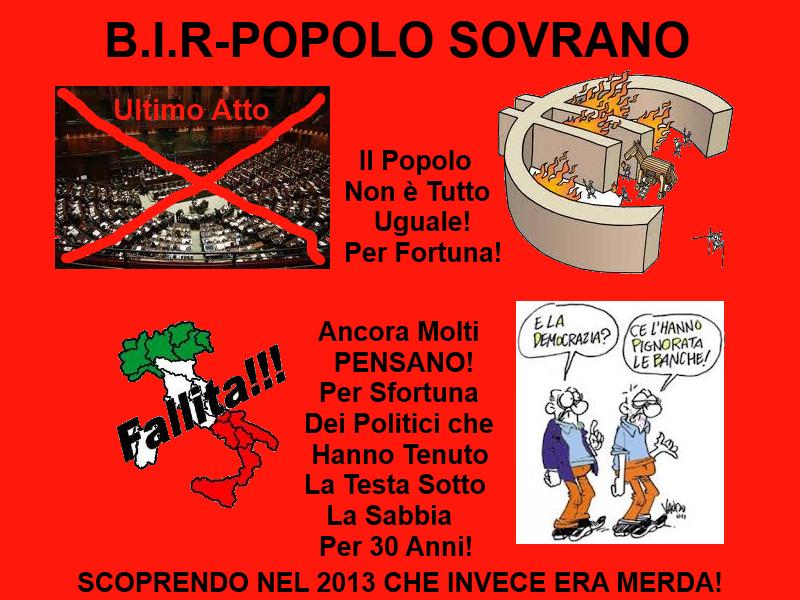 B.I.R-POPOLO SOVRANO
