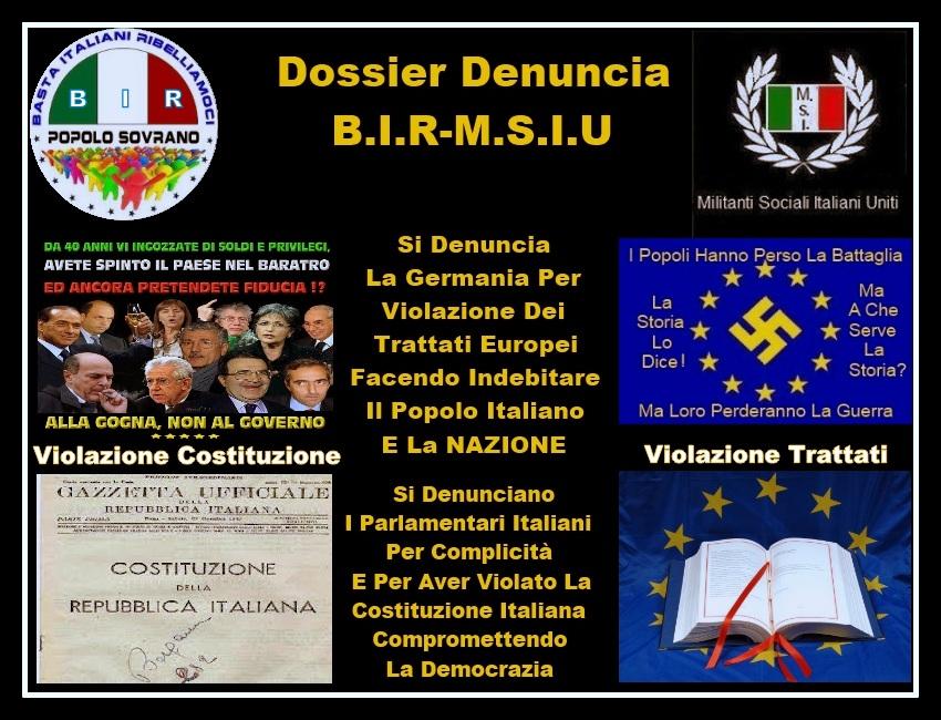 Dossier Denuncia B.I.R