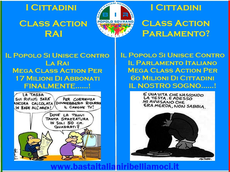 Class Action Rai-Bir-Popolo Sovrano