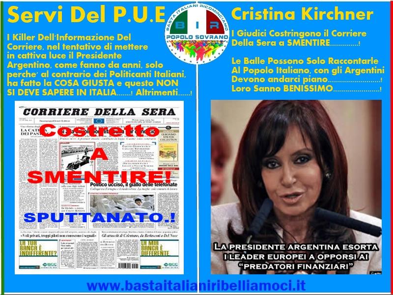 Corriere Della Sera Sputtanato-B.I.R-Popolo Sovrano