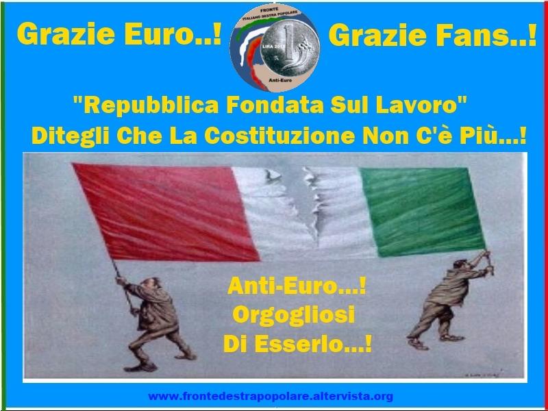 Fronte Destra Popolare_Anti Euro