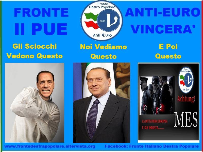 Fronte Anti Euro Destra Popolare_Il PUE Vincerà