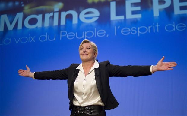 Marine Le Pen Guiderà L'Europa