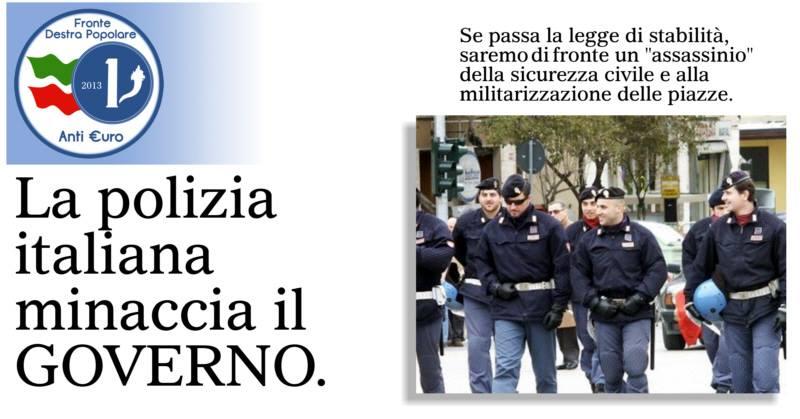 polizia di stato_fronte destra popolare