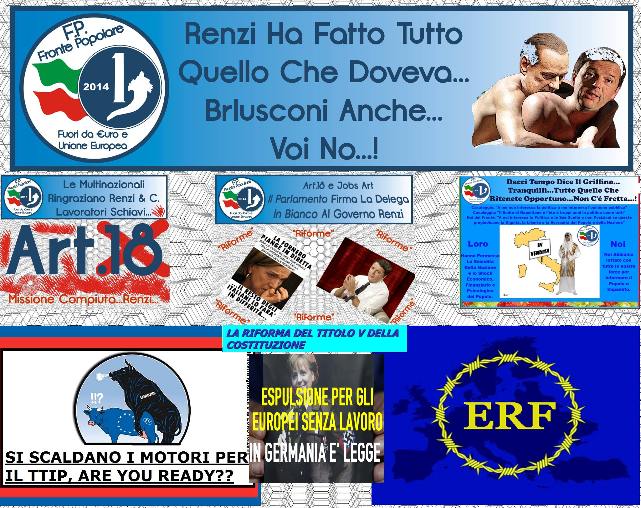 renzi gli italiani sono più ricchi_fronte popolare