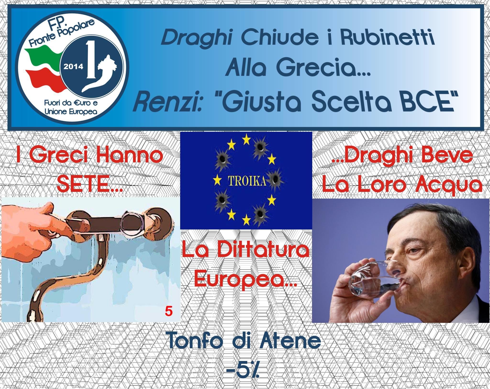 draghi chiude i rubinetti alla grecia_fronte popolare