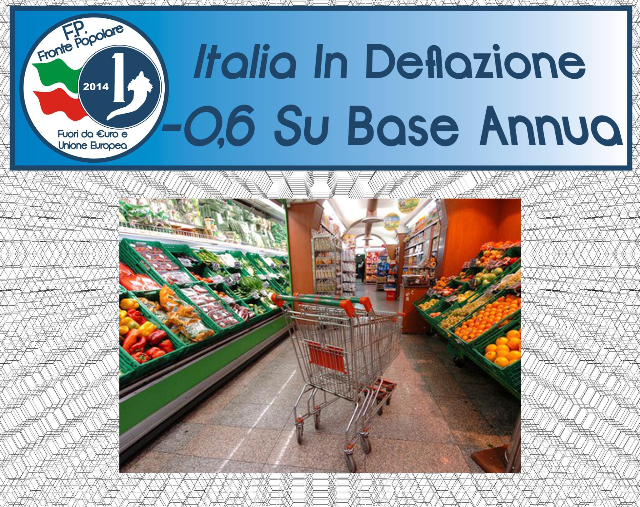 italia in deflazione_fronte popolare
