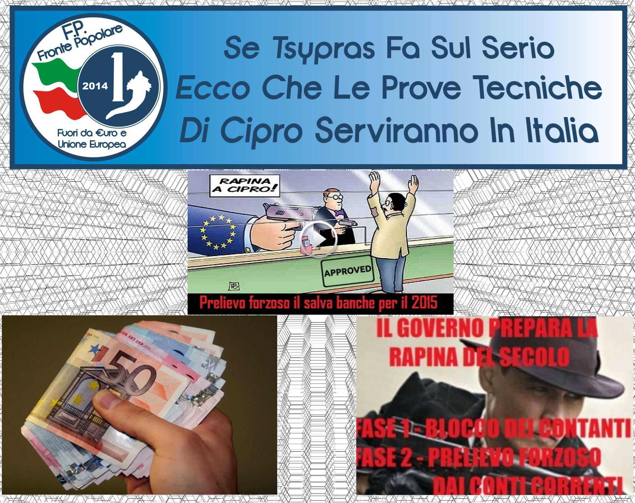prelievo forzoso in Italia_fronte popolare