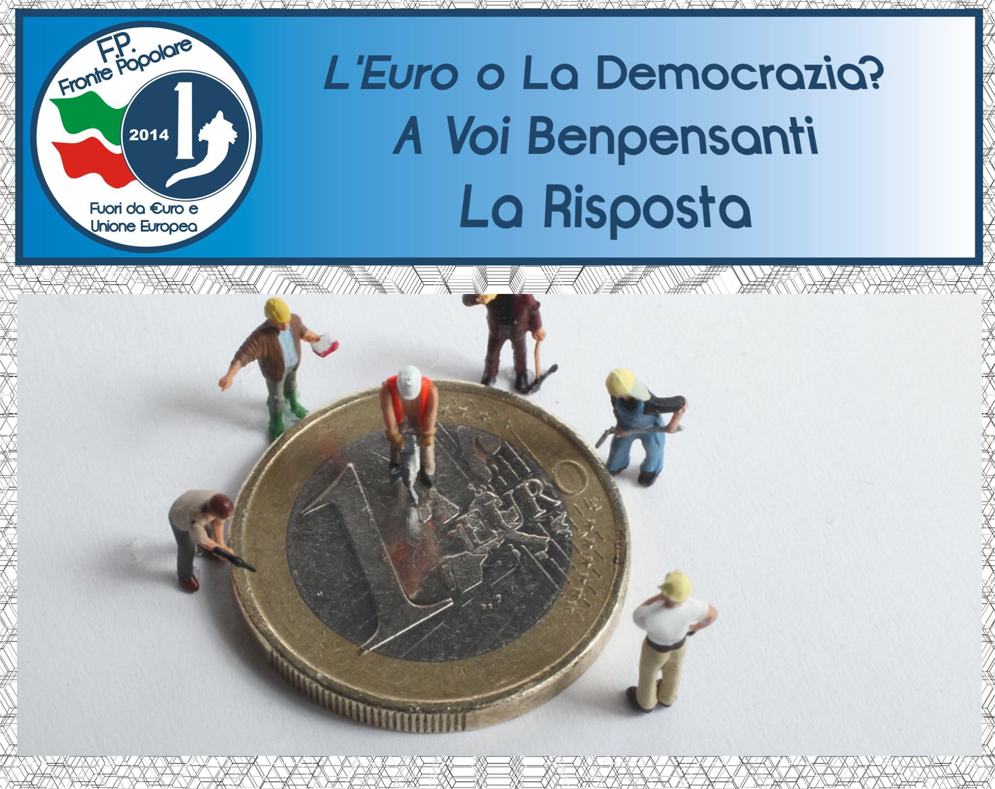 euro o democrazia_fronte Popolare