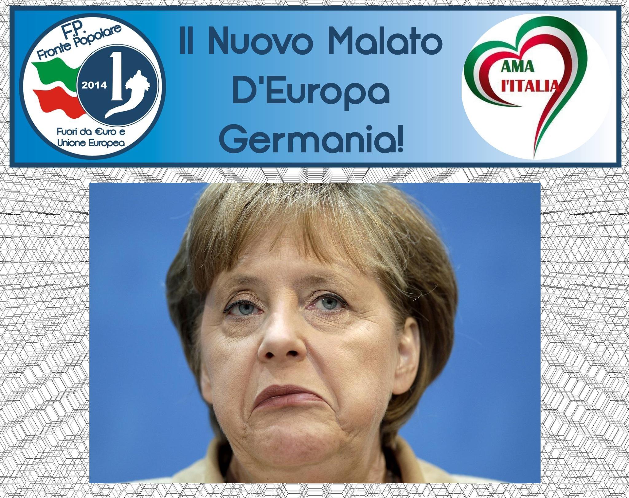il nuovo malato d'europa_germania_frote popolare