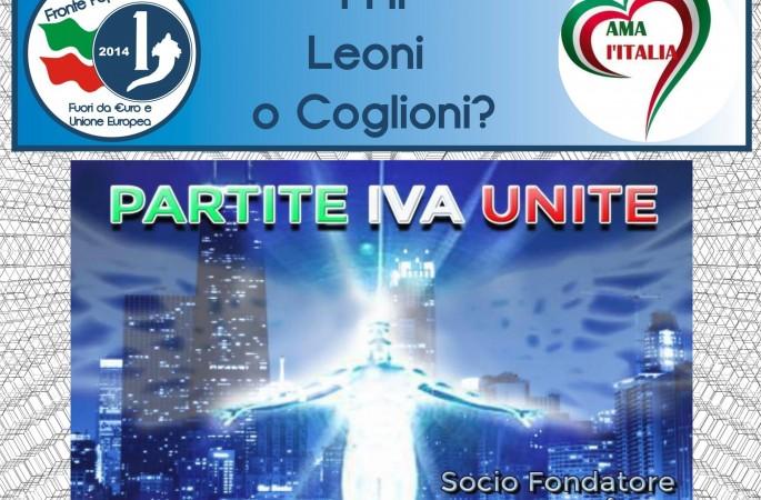Imprenditori Leoni o Coglioni?