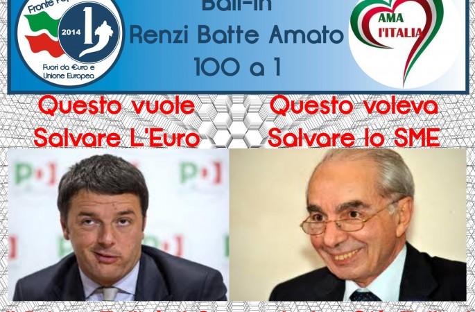 Renzi Batte Amato Bail-In